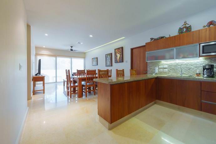 Condominio magnífico de 3 habitaciones para 9 personas cerca del mar