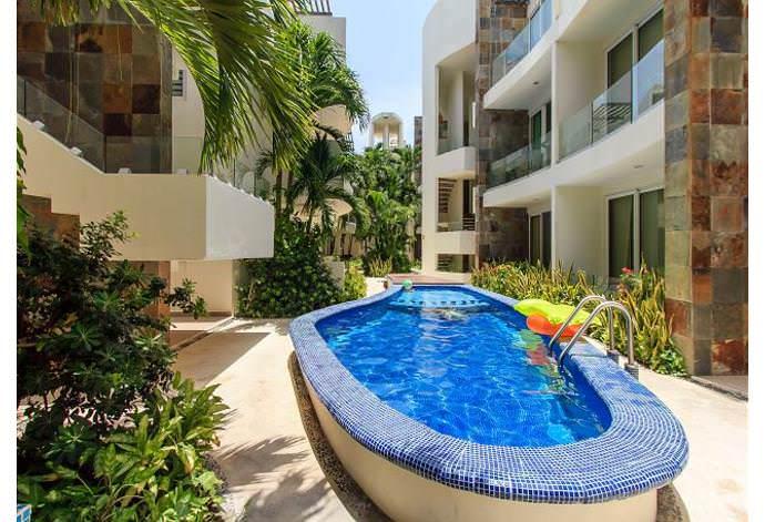 Espectacular condominio para 7 personas a metros de Playa Mamitas