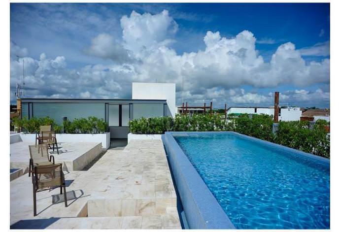 Hermoso Pent House 6 personas a cuadras del mar caribe