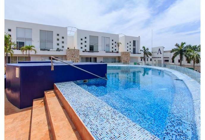 Hermoso Penthouse para 6 personas en Playa del Carmen